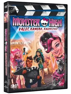 Monster High: Valot, kamera, kauhistus! elokuvassa Draculaura uskoo olevansa vampyyrivaltakunnan perijätär, mutta vain kadonnut Vampyyrin sydän voi paljastaa oikean kuningattaren. Kesto 1 t 14 min. 7+