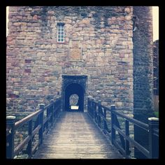 Rothesay Castle in Rothesay: (Descendent: Alonzo B. Ard Clan of Osage City, Kansas, USA)