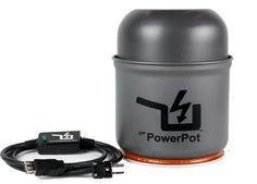 Zero Energy Camping Pot