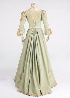 Дневное платье. 1903 г.