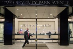 The global financial services company will tear down its Park Avenue headquarters and take advantage of new zoning rules to build a bigger, sleeker one. Jpmorgan Chase & Co, Tear Down, Old Building, Usa News, Park Avenue, Ny Times, Old Things
