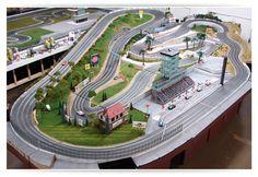 Track for Zak Brown   Slot Mods Raceways