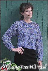 DK Trinity Sweater Pattern By Donna Druchunas
