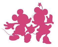 Dancing Mickey and Minnie Mouse Silhouette Vinyl Decal Sticker Disney Diy, Disney Crafts, Disney Trips, Disney Love, Silhouette Minnie Mouse, Princess Silhouette, Silhouette Cameo Disney, Ballerina Silhouette, Mickey Minnie Mouse