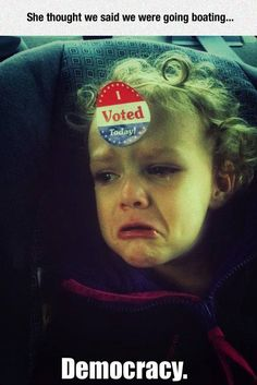 funny-girl-crying-voting-sticker-forehead-1
