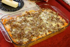 Garden-Fresh Cookbook Sweet Potato Casserole Sausage Recipe    Vernetta's note:  This one uses red apples.  For Paleo, leave out the cheese.