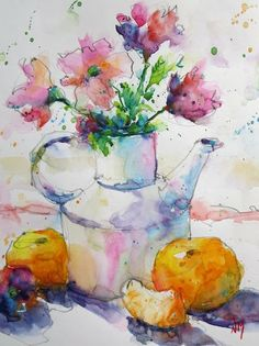 Nora MacPhail - Artista  #watercolor jd