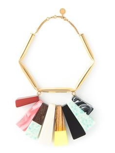 Shop Stella McCartney 'Mixed Stones' necklace in Stefania Mode from the world's best independent boutiques at farfetch.com. Over 1500 brands from 300 boutiques in one website.