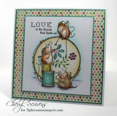 CT0614 – In Stitches by CherylQuilts - Cards and Paper Crafts at Splitcoaststampers