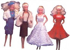 Barbie Fashion Doll Crochet Patterns - Bing images