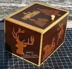 Paper Play by Kathi: Creatables Wooden Christmas Box