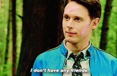 "Dirk Gently's Holistic Detective Agency ""Very Erectus"" Sci Fi Series, Tv Series, Samuel Barnett, Dirk Gently's Holistic Detective, Douglas Adams, Everything Is Connected, Tv Tropes, I Love Him, Favorite Tv Shows"