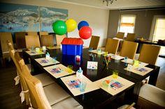 Kids Table Kindertisch bei einer Hochzeit