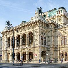 Sketch Architecture, Classical Architecture, Restaurant Exterior Design, Vienna State Opera, Aesthetic Experience, Cadiz, Malaga, Siena, Granada