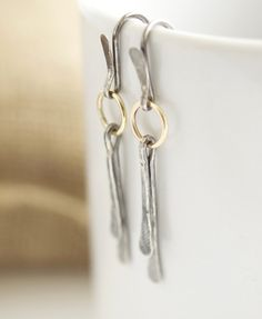 10k gold and sterling silver