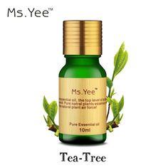 En Kaliteli Saf Çay Ağacı Esansiyel Yağları 10 Ml Cilt Saç için bakımı Çay ağacı Yağı Skar Akne Tedavisi Temizleme makyaj Mükemmel olduğunu
