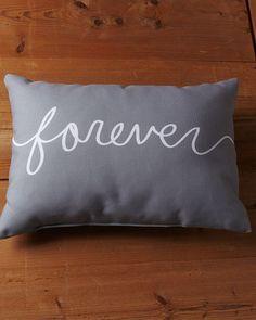 One Bella Casa 'Forever' Decorative Pillow