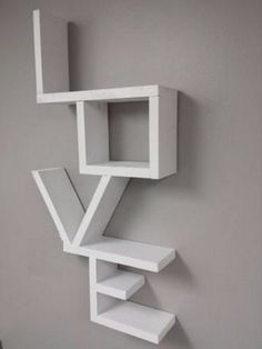 New Shabby Chic Apartment Decor Wall Hangings Ideas Wall Hanging Shelves, Home Decor Shelves, Wall Shelves Design, Diy Home Decor, Room Decor, Wall Decor, Wall Hangings, Furniture Ads, Cool Furniture