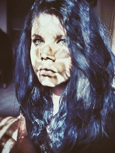 I miss my blue hair!   #bluehair #girl #alternative #fashion #photography #Greek #blueeyes #emo #scene #hairstyles #style #patterns #vintage