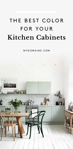 Trending colors to paint your kitchen cabinents