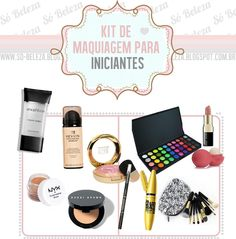 Só Beleza: Kit de maquiagem perfeito para iniciantes.