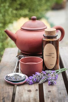 Organic Loose Leaf Tea // Lavender Tea by Garden Apothecary.