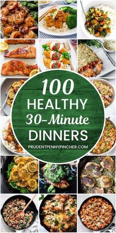 100 recipes for healthy dinner healthy recipes dinner dinnerecipes he … Beauty Tips & Tricks is part of Vegetarian recipes dinner - 100 30 Minute Healthy Dinner Recipes healthyrecipes dinner dinnerecipes heal 100 re Healthy Meal Prep, Easy Healthy Dinners, Healthy Drinks, Healthy Snacks, Easy Dinners, Healthy 30 Minute Meals, Healthy Kid Friendly Dinners, Inexpensive Healthy Meals, Healthy Suppers