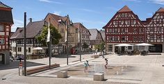 Marktplatz in Eppingen, Wick + Partner, Architekten Stadtplaner, fertiggestellt…