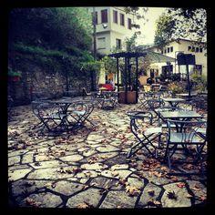 Coffee break in Portaria,Pilion,Greece