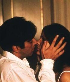 """Scenes from 'The Godfather' Al Pacino und Simonetta Stefanelli """"Der Pate"""" 1972 von Francis Ford Coppola The Godfather, Godfather Series, Simonetta Stefanelli, Young Al Pacino, Daniel 3, Don Corleone, Corleone Family, Movie Kisses, Mob Wives"""