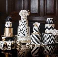 The Top 10 Most Stylish Wedding Cake Trends 2017