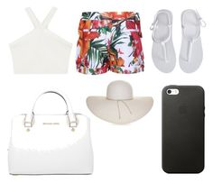 """""""Summer - Beach Vibe"""" by rachellparis ❤ liked on Polyvore featuring Ted Baker, BCBGMAXAZRIA, Aéropostale, Michael Kors and Nine West"""