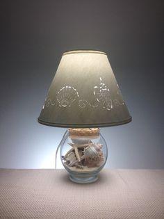 Fill Your Own Seashell Lamp - Fillable Seashell Lamp ...