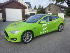 Taxi Electric will augment an existing fleet of Nissan Leaf electric cabs with Tesla Model S plug-ins. Stavanger Norway, Tesla Roadster, Tesla Model X, City Car, Electric Cars, Netherlands, Holland, Bubble, Green