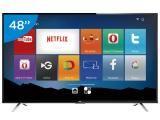 """Smart TV LED 48"""" TCL Full HD L48S4700FS - Conversor Digital Wi-Fi 3 HDMI 1 USB DTVi"""
