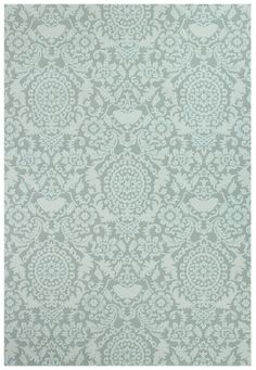 Prato 8016 Light Green Teppich Carpet Orient Bordüren Modern Style Ornament  Floral Pastel Blau Grün Türkis