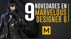9 Novedades en Marvelous Designer 6