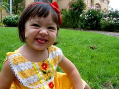 classic Mexican dress for baby