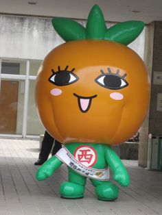 Kakky, mascot of Tottori pref. Japan