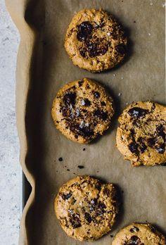 Peanut Butter Compost Cookies -- kitchen sink cookies- naturally gluten free