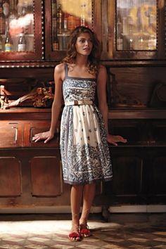 Apron style dress