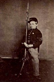 Clem became a celebrity for his actions at Chickamauga, Ga., in September 1863.