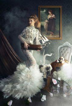 New High Fashion Photography Vogue Tim Walker Ideas Foto Fashion, Fashion Shoot, Editorial Fashion, Trendy Fashion, Fashion Art, Fashion Beauty, Fashion Design, Dress Fashion, Vogue Fashion