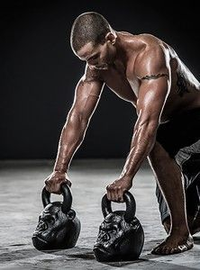 Unleash the beast within using the Full Body Animal Strength Workout. This full body workout combines the barbell and kettlebell for animalistic gains!