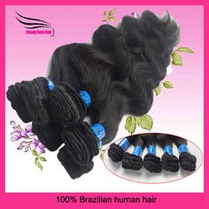 "Brazilian Hair, Queen Hair Extension, Body Wave, Mixed Length 12""14""16""18""20""22""24""26"" 6pcs/lot  DHL Free Shipping $52.30 - 112.38"