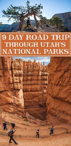 Your guide to an epic 9 day road trip through Utah's most beautiful parks.