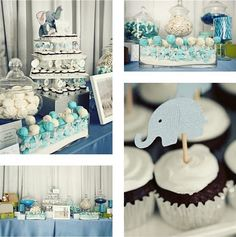 Elephant themed   A Modern Safari Birthday - Baby - Dol - First Birthday