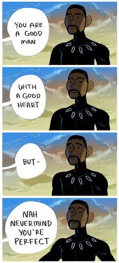Black Panther || That good good panther boy