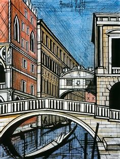 Painting by Bernard Buffet