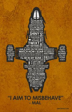Firefly Serenity Quote Poster  11 x 17 by UnikoIdeas on Etsy, $18.00